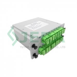 Fiber optic PLC Cassette splitter