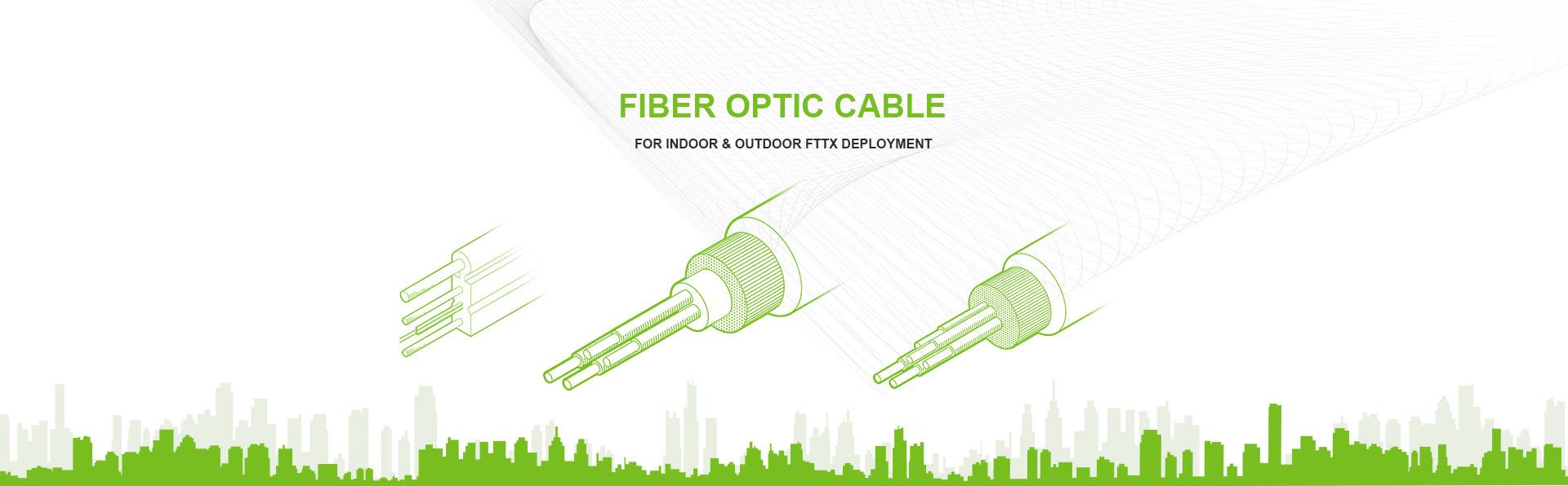 FTTH fiber optic cable