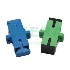 Good Quality Fiber Optic Adapter – Fiber optic adapters, Single-mode – JERA