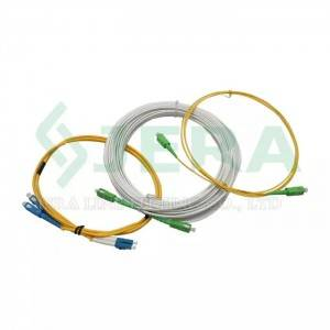 Fiber optic distribution patch cords