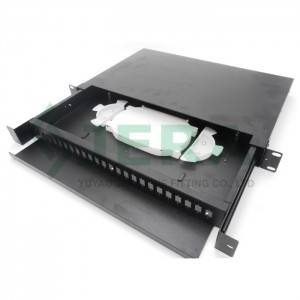 Fiber optical patch panel, 1U-24-SC