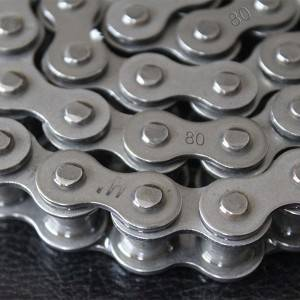 (A Series Single Stand)Short Pitch Precision Roller Chains 80-1(16A-1)