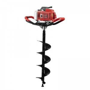 JHPRO JH-IE48-F agricultural digging machine tree planting earth auger gasoline earth drill
