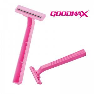 Disposable twin blade lady's razor SL-3003