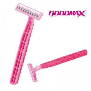 Economic long handle Disposable Triple Blade Women Shaving Razor SL-3018