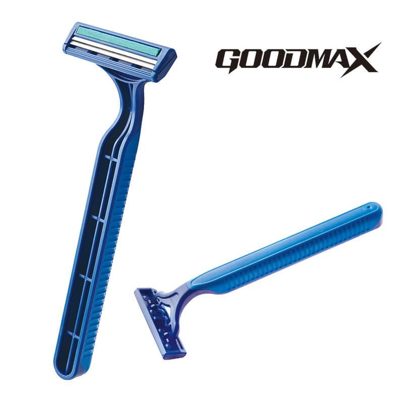 Movable Head Disposable Men Disposable Flexible Twin Blade Razor SL-3032