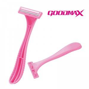 Custom Design Safety Hotel Twin Blade Women Shaver For Body SL-3036
