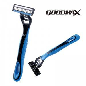 Soft handle three blade classical design men disposable razor SL-3100TL