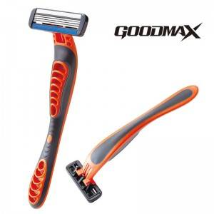China Men's Straight Barber Shaving Disposable Razor Four blade 6001