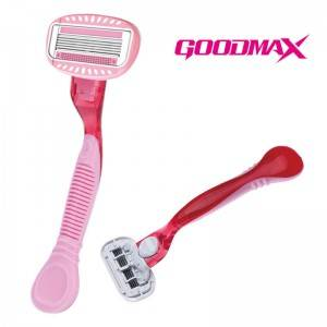 Personal Care Stainless Steel Women system razor with five blades SL-8002