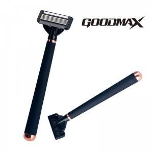 Five Open Back Blade pen-like handle Mens system Razor Shaving Model No. 8201