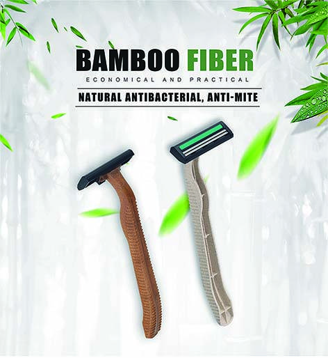 Razor That Made from Bamboo fiber Material