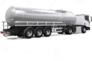 What should I pay attention to when the tank truck is steaming?