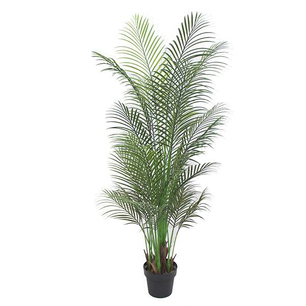Hot sale Plastic palm plants factory artificial palm tree for indoor decoration Featured Image