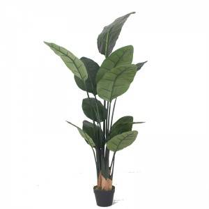 Hot selling Artificial Plastic Birds of Paradise Plants