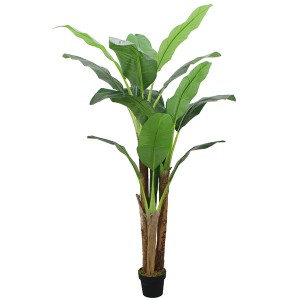 Artificial banana tree for indoor decoration PEVA leaf