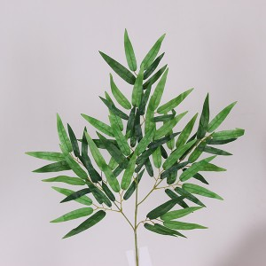 2020 China factory cheap hot sale wholesale artificial bamboo leaves