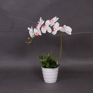 Top selling design customized realistic artificial flowers orchid
