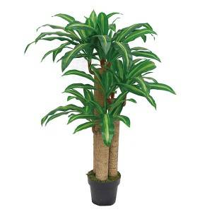Artificial trees-dracaena fragrans green plastic