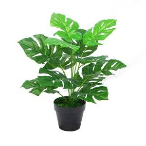 Decorative Artificial Plant Bonsai Plant Small Bonsai Table Decoration Monstera