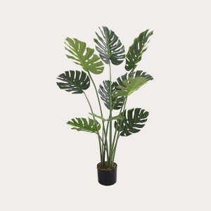 Best Quality Real Touch Artificial Monsteras Leaves Plants Plastic Monstera plants Leaves for Decoration