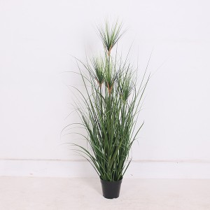 Home Decor Potted Plants Artificial Grass Flowers Plants