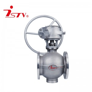 Factory Supply Water Gas Control Ball Valve - Eccentric semi-ball valve – Jiest