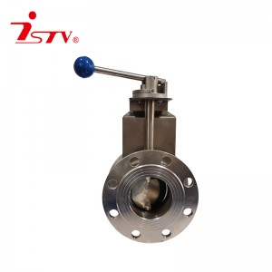 China Gold Supplier for China RF 3A Standard Food Grade Sanitary Stainless Steel Butterfly Welded Manual Valve