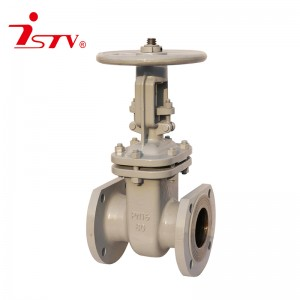 Bottom price Non-Rising Stem Gate Valve - GOST cast steel/ stainless steel gate valve – Jiest