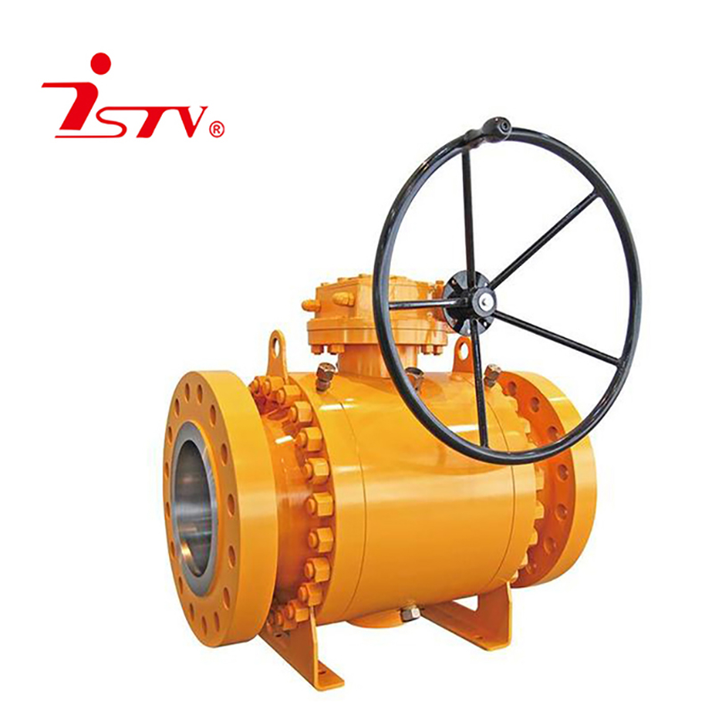 API6D 3-pcs fixed ball valve