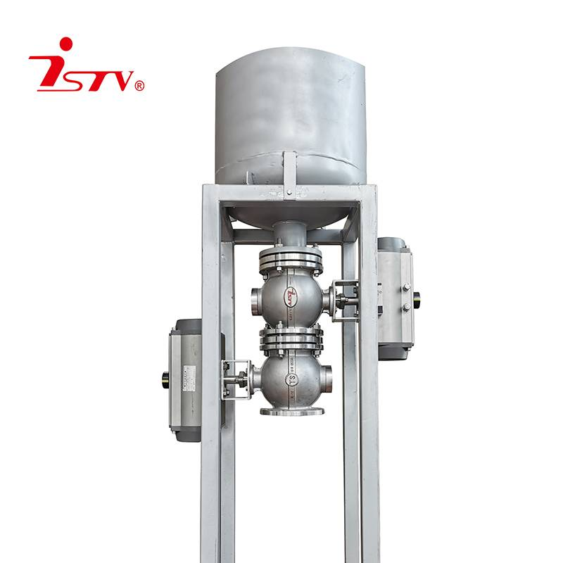 Slurry discharging combination valve Featured Image