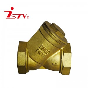 Brass Y-shape strainer