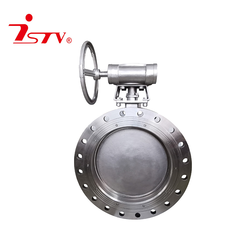 Three-eccentric butterfly valve