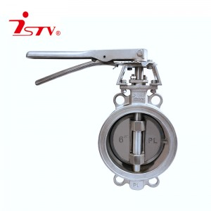 2020 Good Quality Center Sealing Butterfly Valve - Double-eccentric butterfly valve – Jiest