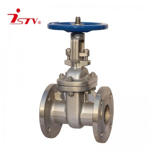 JIS cast steel/ stainless steel gate valve
