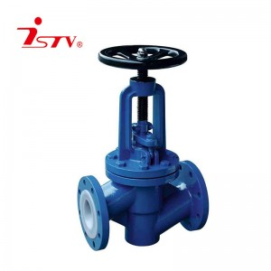 China Cheap price Globe Valve Flanged End - Fluorine lined globe valve – Jiest