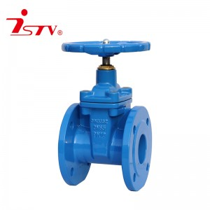 DIN3352 F4/ F5 non-rising stem resilient soft seat gate valve