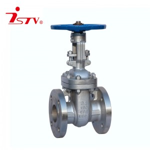 ANSI cast steel/ stainless steel gate valve