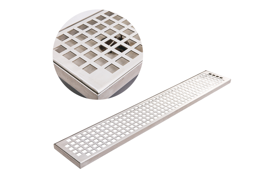 SC-1607 Well designed drainage channel stainless steel Grating Drainage Trench Cover