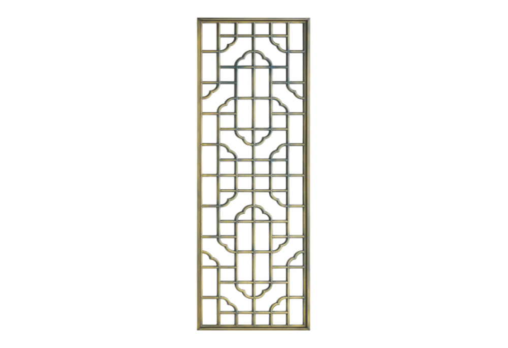 SL-8012 Engraved Stainless Steel modern room divider/screen design decorative partition wall.
