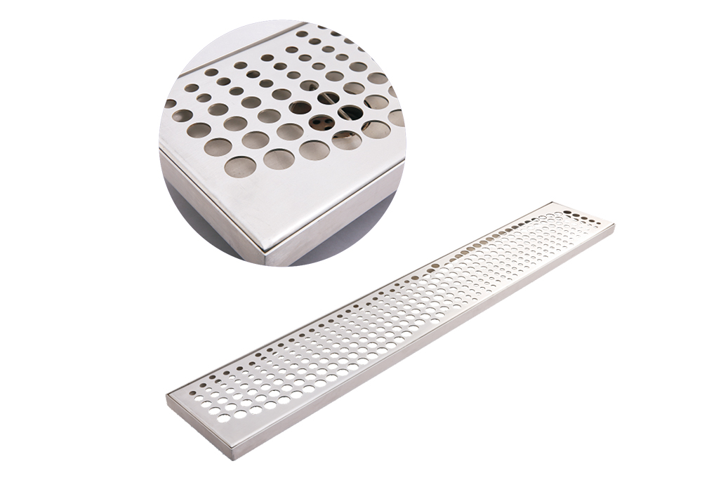 SC-1605 Stainless Steel Perforated hole Drain Gratings
