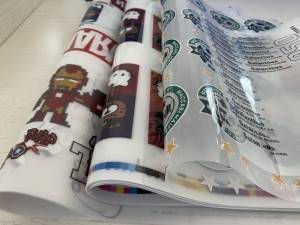 HOT PEEL MATTE FINISH HEAT TRANSFER PET FILM FOR SCREEN & OFFSET PRINTING