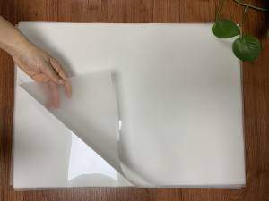 COLD PEEL MATTE FINISH HEAT TRANSFER PET FILM FOR SCREEN PRINTING