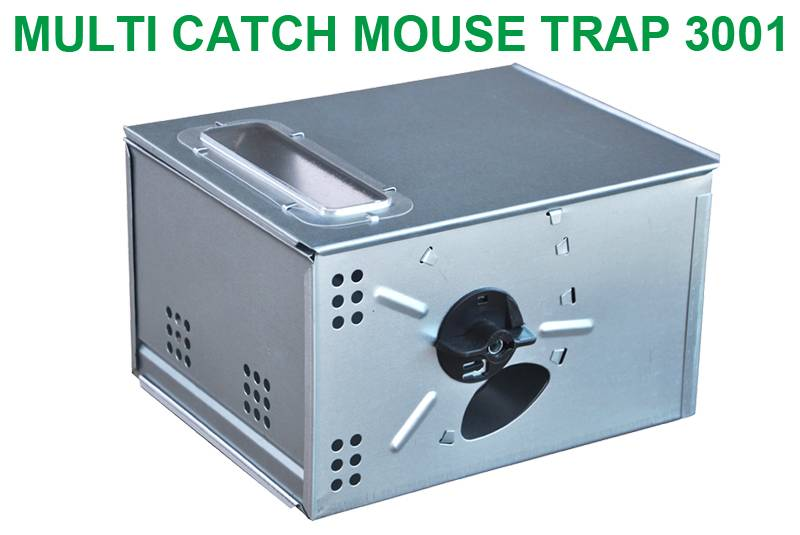 Southern Homewares Automatic Multi-Catch Mouse Trap Humane Easy Set Mice Catcher – Catch and Release Human Mouse Trap