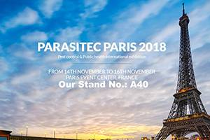 Participate to Parasitec Paris 2018 Aug. 30, 2018