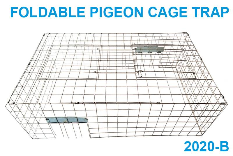Foldable pigeon cage trap 2020-B