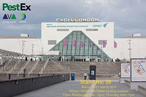 Exhibiting at PestEx 2019
