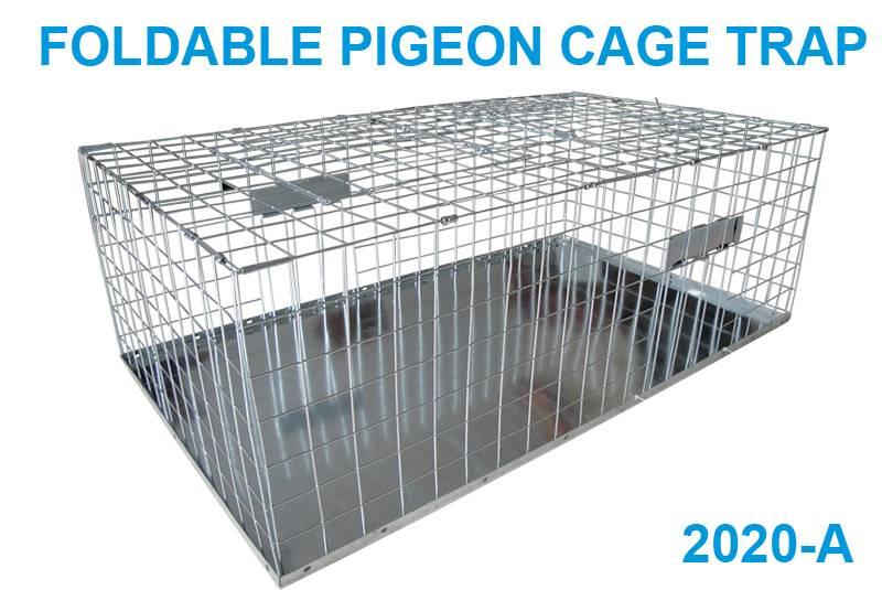 Foldable pigeon cage trap 2020-A