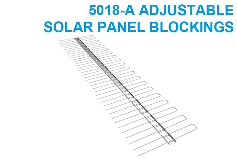 Adjustable Solar Panel Blockings