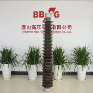 330kV station porcelain post insulator is the best quality in China